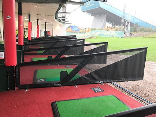 Trafford Golf Centre Driving Range Bay Divider