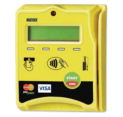 Nayax Credit Card Payment System Range Solutions
